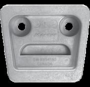 Aluminium Anode Volvo Penta sterndrive  gimbal plate for SX-Drive (OEM 3854130)