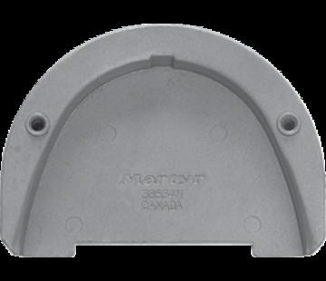 Allpa Magnesium Anode Volvo Penta sterndrive  transom plate for SX-drive (OEM 3855411)