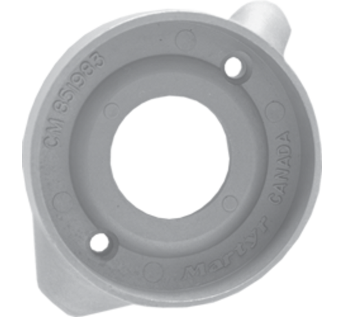 Allpa  Aluminium Anode Volvo Penta saildrive  ring 2-gats voor S-120 (OEM 851983)
