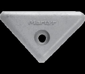 Allpa Zinkanode Volvo Penta sterndrive  triangle for 290/290DP/SX/DP-X (OEM 872193)