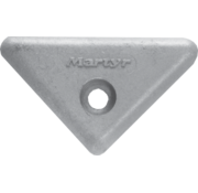 Allpa Aluminium Anode Volvo Penta sterndrive  triangle for 290/290DP/SX/DP-X (OEM 872193)