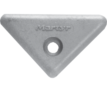 Allpa Magnesium Anode Volvo Penta sterndrive  triangle for 290/290DP/SX/DP-X (OEM 872193)