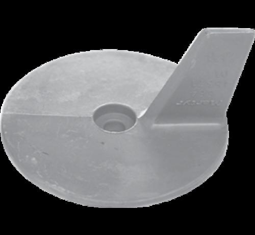Allpa  Aluminium Anode Yamaha- / Honda outboard  cutdown skeg (OEM 664-45371-01)