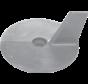 Aluminium Anode Yamaha- / Honda outboard  cutdown skeg (OEM 664-45371-01)