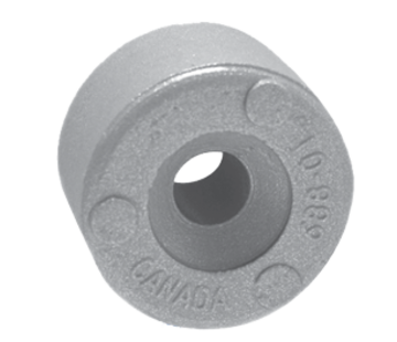 Allpa Zinkanode Yamaha outboard  button (OEM 688-45251-01)
