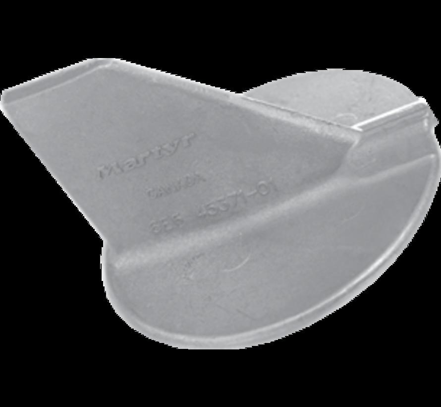 Aluminium Anode Yamaha outboard  skeg (OEM 6E5-45371-01)