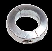 Allpa Aluminium Anode voorDiameter 22mm-as ringvormig/dun