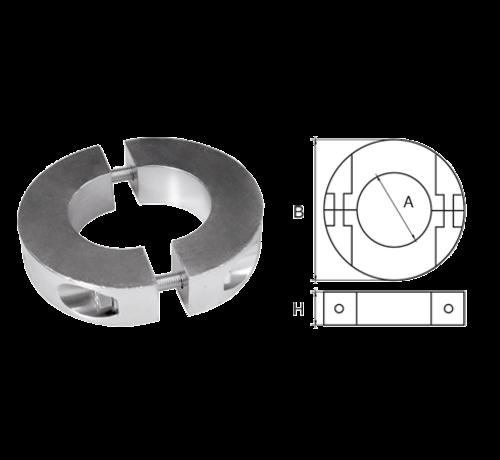 Allpa  Aluminium Anode voorDiameter 30mm-as ringvormig/dun