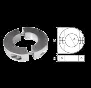 Allpa Aluminium Anode voorDiameter 45mm-as ringvormig/dun