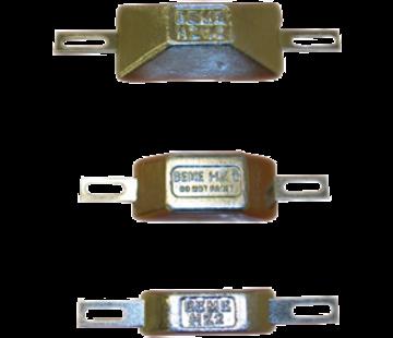 Allpa Zinkanode met strip voor boutmontage  type HZ-2  165x30mm (0 20kg)