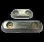 Aluminium Anode boutmontage  gatsafstand = 140mm (1 40kg)