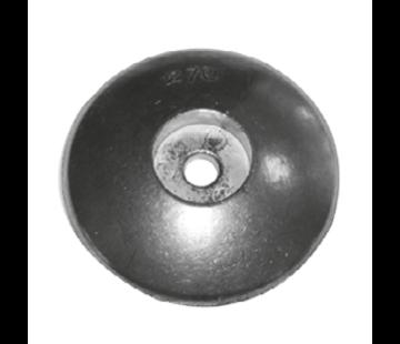 Allpa Zinken ronde roerblad-anode Diameter 70mm (0 30kg)