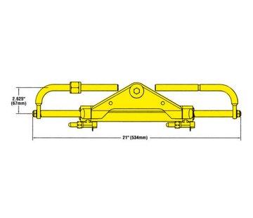 Seastar SeaStar Fittingkit 45 Graden voor BayStar stuurpomp (HH4314)