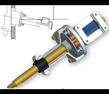 Seastar SeaStar Tilt Stuurkop RACK NFB (no-feedback)