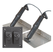 Elektrische trim tab set  9x36  12V (boot 34'-65' / 10-20m)