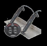 Elektrische trim tab set  9 x 18  12V (boot 22'-30' / 7-9m)