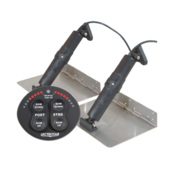 Elektrische trim tab set  9 x 36  12V (boot 34'-65' / 10-20m)