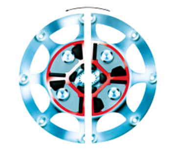 Technodrive Technodrive Demperplaat 11-1/2 voor TM93/ TM170/TM545A/TM485A