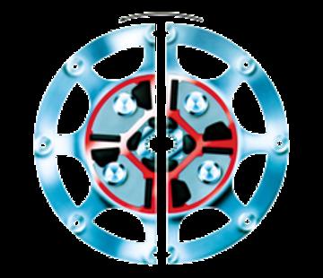 Technodrive Technodrive Demperplaat 11-1/2 voor TM265 (Centa DS40)