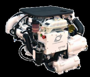 Hyundai Hyundai Scheepsdieselmotor S270P TURBO & int.  Technodrive keerk. TM485A  reductie 1.51:1