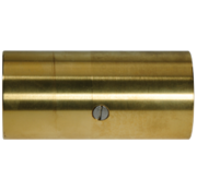 Allpa Schroefbaar bronzen tussenlager met inwendige draad en Phenol  lagerbus  Ø30mm & koker Ø45mm