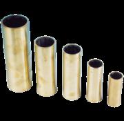 Allpa Neopreen lagerbus  messing mantel  voor as Ø22mm  buitenmaat 1-1/4  L=3