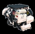 Scheepsdieselmotor
