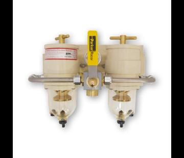 Racor Racor Heavy Duty Turbine filter  omschakelbaar diesel filter met waterafscheider  model 75/1000FGX