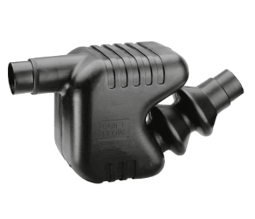Allpa Kunststof Waterlock / uitlaatdemper  slangaansluiting Diameter 75 / 90mm  inhoud 33l