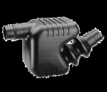 Allpa Kunststof Waterlock / uitlaatdemper  slangaansluiting Diameter 100 / 115mm  inhoud 33l