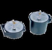 Kunststof koelwaterfilters  3/4  H=75-110mm  2800l/h