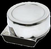 RVS elektromagnetische mini scheepshoorn  1-tonig  Diameter 82mm  12V