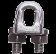 Allpa RVS draadklem  Diameter 10mm