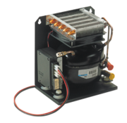 Koelcompressor model ND50VR-V 12/24V voor koelruimtes tot 130l (incl QC-koppeling  torenmodel)