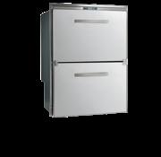 RVS inbouwvrieslade & koeler Sea Drawer  80l & 64l  ext. compressor