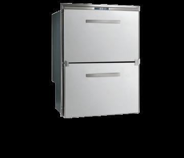 Allpa RVS inbouwvrieslade & koeler Sea Drawer  80l & 64l  ext. compressor