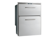 RVS inbouwvrieslade  ice maker & koeler Sea Drawer  104l  12/24V  ext. compressor