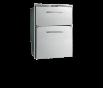 Allpa RVS inbouwvrieslade  ice maker & koeler Sea Drawer  104l  12/24V  ext. compressor