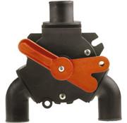 Johnson Johnson Pump Y-ventiel voor vuilwater  3x 1-1/2 (Diameter 38mm)  1x 1 (Diameter 25mm)