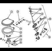 Johnson Pump spoelhandel set