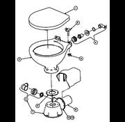 Johnson Pump glijringafdichting motoras Silent Electric & Silent Premium Electiric toilet