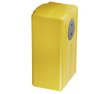 Allpa Polyethyleen verticale vuilwatertank  73l  290x750x390mm