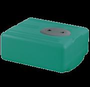 Polyethyleen drinkwatertank  32l  450x390x200mm (H: +30mm vulaansluiting)