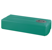 Polyethyleen drinkwatertank  60l  850x390x200mm (H: +30mm vulaansluiting)