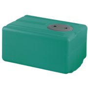 Polyethyleen drinkwatertank  67l  650x390x290mm (H: +30mm vulaansluiting)