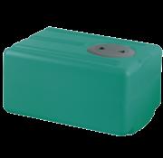 Polyethyleen drinkwatertank  77l  750x390x290mm (H: +30mm vulaansluiting)