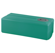 Polyethyleen drinkwatertank  97l  950x390x290mm (H: +30mm vulaansluiting)