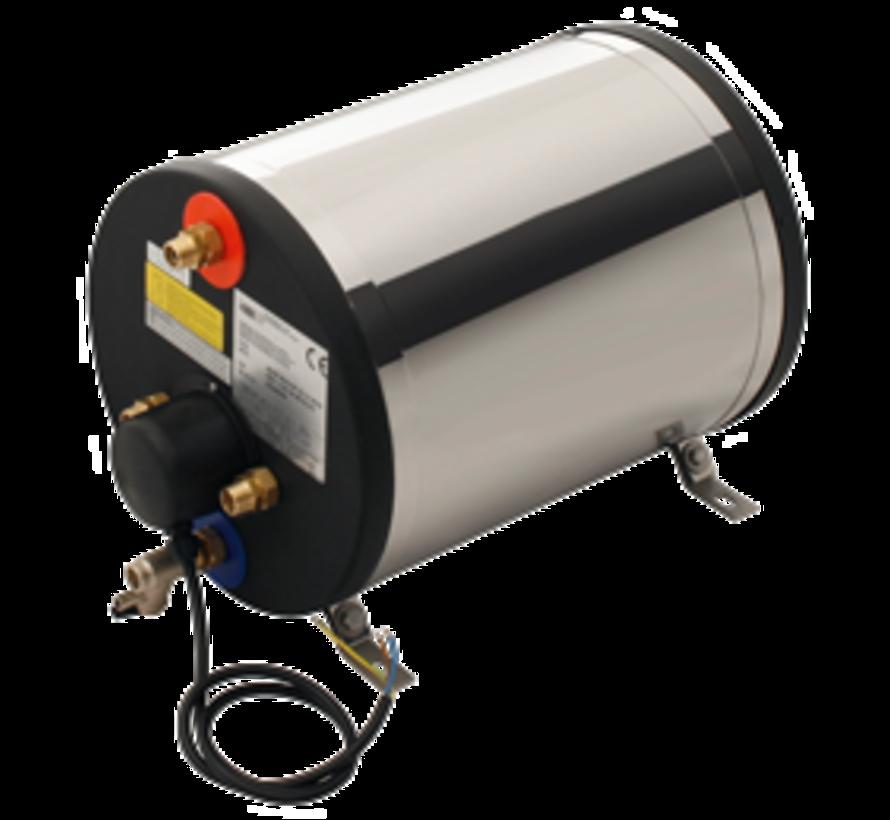RVS scheepsboiler  1200W / 22l  rond model  gewicht 14kg