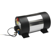 Johnson Pump RVS scheepsboiler AquaH  1200W / 22l  rond model  gewicht 10 0kg