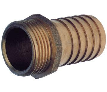 Allpa Messing slangtule  1/2 x 20mm